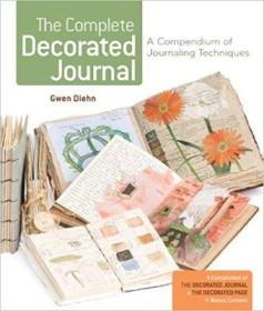 The Complete Decorated Journal 手绘时光记录本 旅行绘画  英文原版
