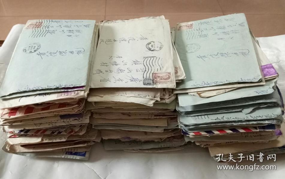 五、六、七十年代香港寄回国内实寄封100个。