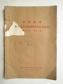 景德镇市煤气烧平焰柴窑初步技术总结