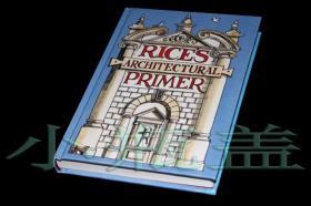 欧洲古典建筑造型手绘插画 Rices Architectural Primer 英文原版建筑艺术书