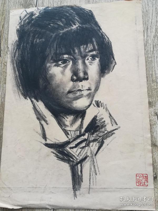陈子贵素描376