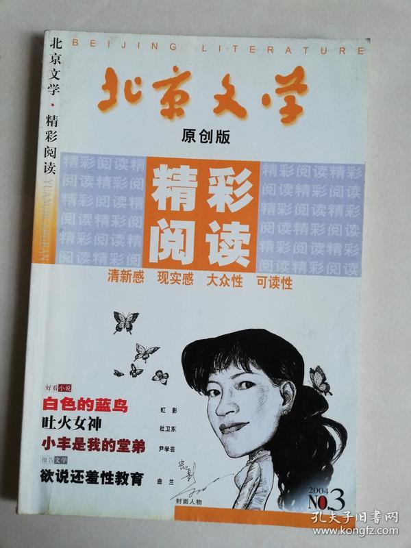 北京文学 原创版 精彩阅读 2004.3