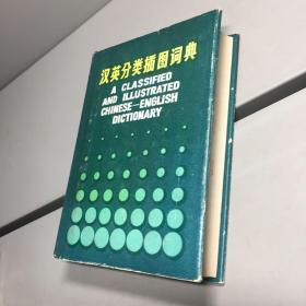 汉英分类插图词典 【精装 品好】【一版一印 9品-95品+++ 正版现货 自然旧 实图拍摄 看图下单】