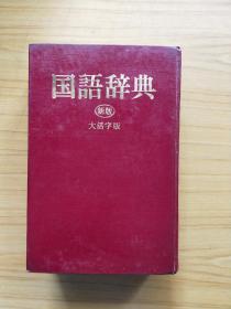 国语辞典(新版)大活字版