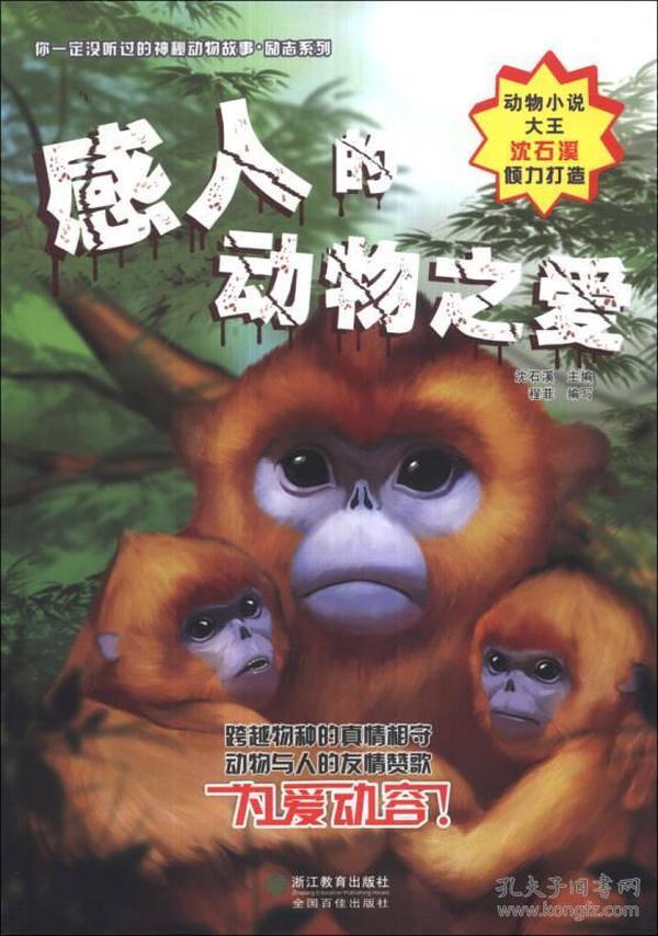 你一定没听过的神秘动物故事·励志系列:感人的动物之爱