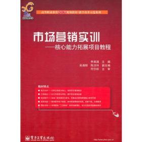 市场营销实训:核心能力拓展项目教程9787121133497