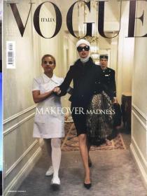 VOGUE ITALIA Vogue意大利 June 2006 整容封 Linda Evangelista封面 仅用于交换,如合适请私聊