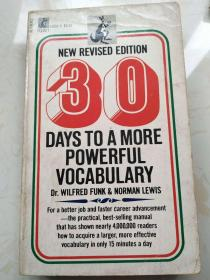 30 Days to a More Powerful Vocabulary 《三十天获取更有力的词汇量》 New Revised Edition 新修订版 【英文原版,品相佳】