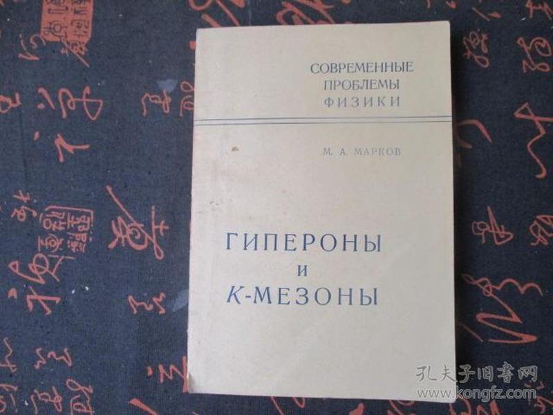 外文书 超子与K介子