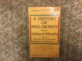 A History of Philosophy -- vol 2 Mediaeval Philosophy, part ii Albert the Great to Duns Scotus 哲学史:中世纪哲学(第二部分),1962 Image第一版,九品,孔网唯一