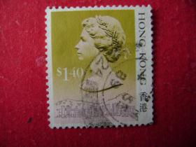 2-26.1988年香港女皇头像邮票s1.4