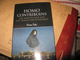 HOMO CONTRIBUENS   THENEED TO GIVE AND THE SEARCH FOR FULFILMENT