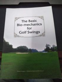 the basic bio-mechanics for golf swings