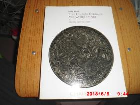 CHRISTIES HONG KONG FINE CHINESE CERAMICS AND WORKS OF ART 佳士得 2007