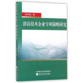清洁技术企业专利策略研究