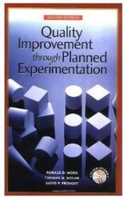 正版二手!Quality Improvement Through Planned Experimentation9780079137814