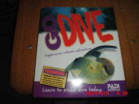 Go Dive - PADI Open Water Dive Manual  (有赠刊)