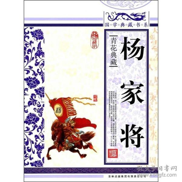 国学典藏书系.人类知识文化精华.珍藏版:杨家将