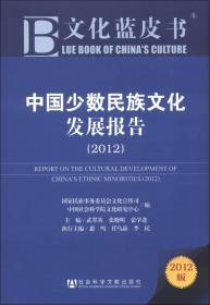 文化蓝皮书:中国少数民族文化发展报告(2012)