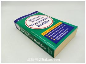 韦伯斯特词汇扩充工具书 Merriam-Webster's Vocabulary Builder 英文原版