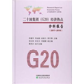 二十国集团(G20)经济热点分析报告(2017-2018)