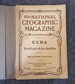 现货 national geographic美国国家地理1906年10月安的列斯群岛,清朝末期的朝鲜掠影