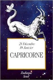 法语原版书 Zodiaque : Capricorne 星座 :摩羯座 Poche 1989 de Andre Barbault (Auteur)