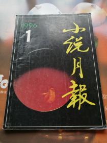 小说月报 1996年1期总第193期