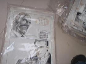 10  90年代出版过的名家动漫原稿《老虎仔》31张 长54厘米宽40厘米 看详图微信