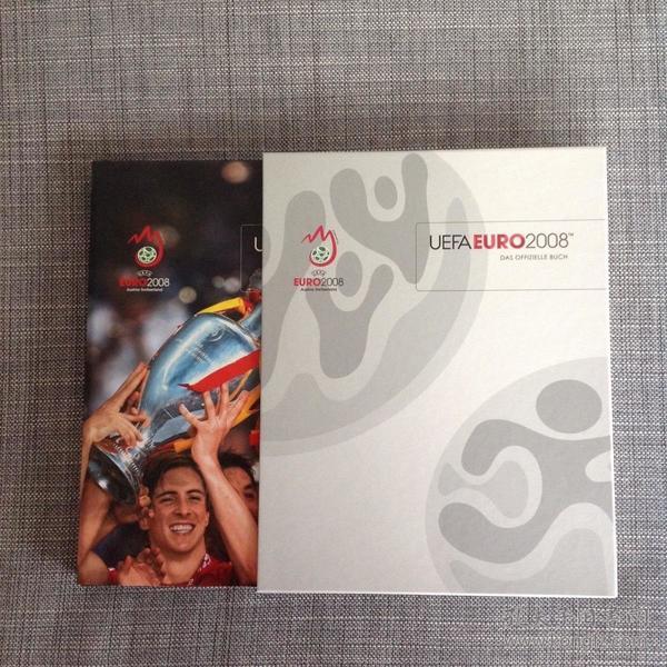 官方限量版2008欧洲杯全彩硬精画册