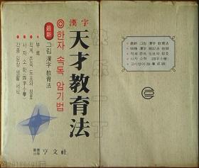 韩国原版书籍-汉字天才教育法