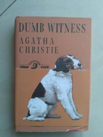 全新英文原版Poirot – Dumb Witness