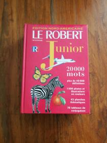 Le Robert Dictionnaire Junior (French Dictionary)(法文原版)
