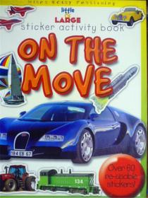 英文原版   少儿绘本   Sticker activity book: On the Move