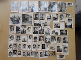 老照片【70年代,美女照片62张】