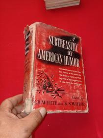 (民国旧书) a Subtreasury of American Humor 《美国幽默小支?