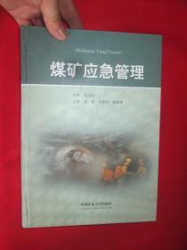 煤矿应急管理     (16开,硬精装)