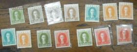 14张  满洲国   溥仪   邮票   任选其一