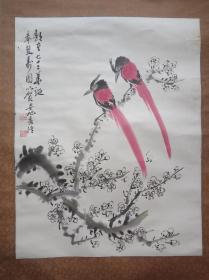 花鸟画家  安旭68x52cm