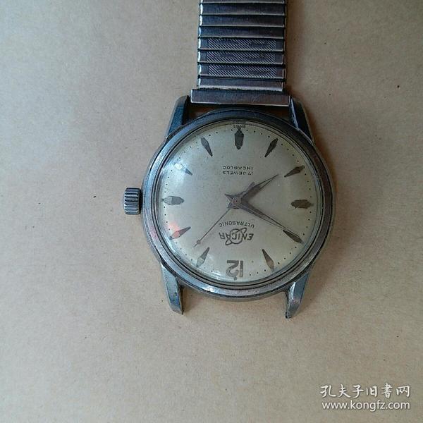 老 表 英纳格(ENICAR)老手表 文革左右