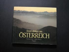 impressionen aus OSTERREICH(少见外国原版摄影画集,扉页长篇签名赠本)