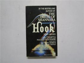 小32开英文原版  THE DRUID OF SHANNARA  HOOK