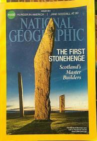 NATIONAL GEOGRAPHIC 美国国家地理杂志<原文版2014-8>