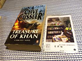 英文原版   treasure of Khan 【存于溪木素年书店】
