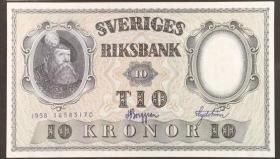 瑞典10克朗(1958年版)