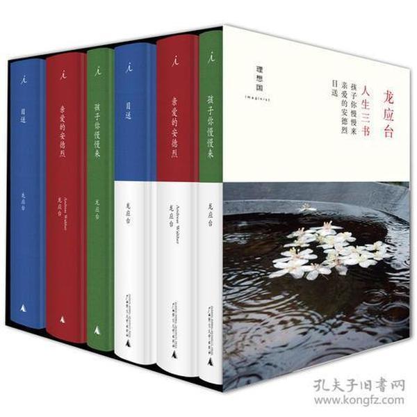龙应台人生三书-(盒装六册)