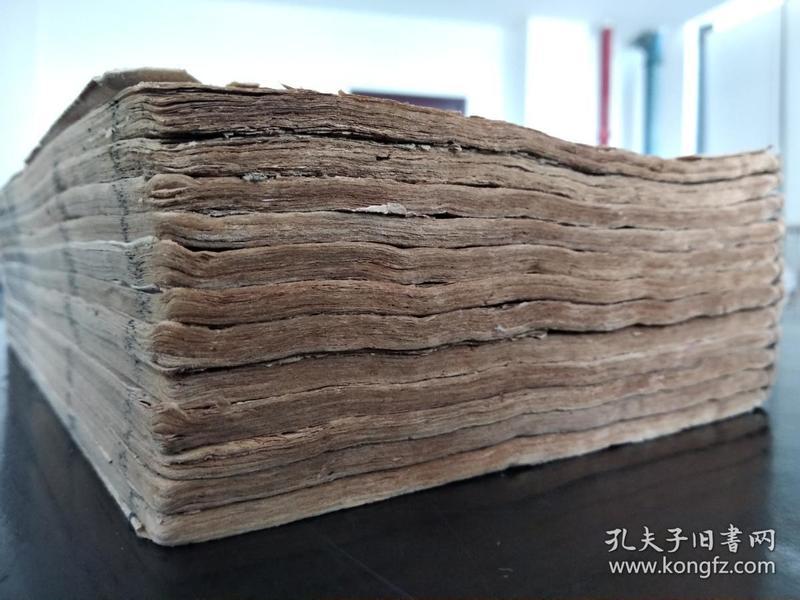 低价出售清代木刻大开本《东周列国全志》存上半部12册!板画多多,极精美