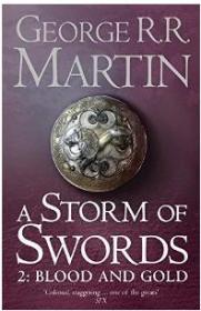 正版二手!A Storm of Swords: Blood and Gold: Book 3 Part 2 of a Song of Ice and Fire9780007447855