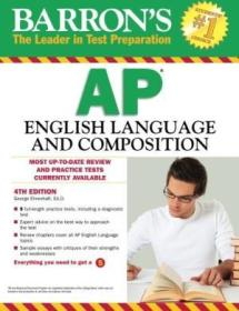 Barrons Ap English Language And Composition  4th Edition (barrons Ap English Language & Compositio