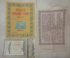 新华通讯社编(中国图片供应社供应)展览图片:中华人民共和国发展国民经济的第一个五年计划图解1953-1957      全网罕见全套75张。